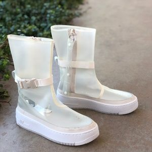 hot sale online 79e5c e1bda Nike Air Force 1 AF1 Sage High Platform Sneaker